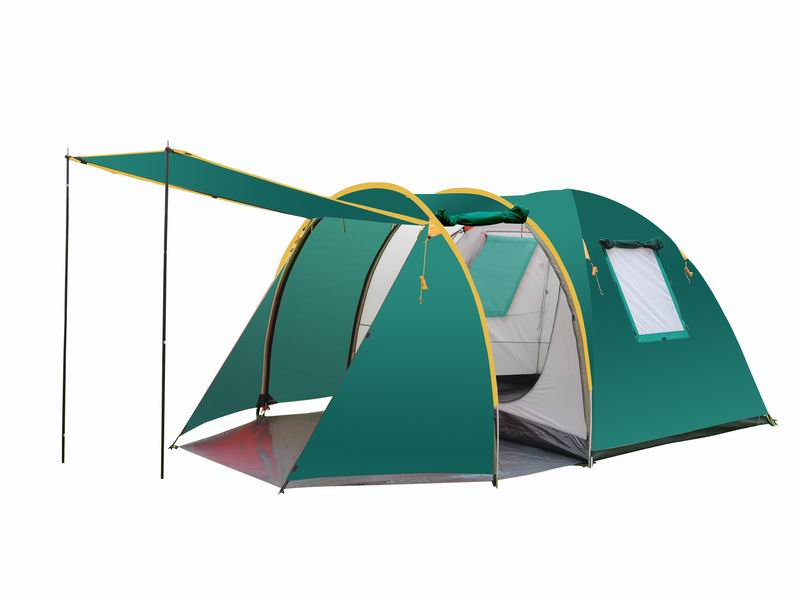 4 Person Extended Custom Mountain Camping Dome Tent