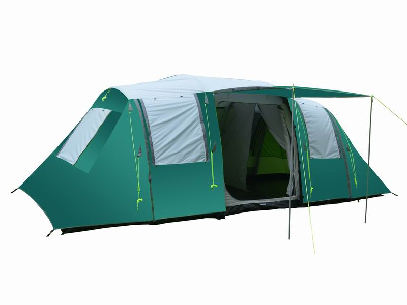 8 Person Extended Custom Inflatable Air Camping Tent