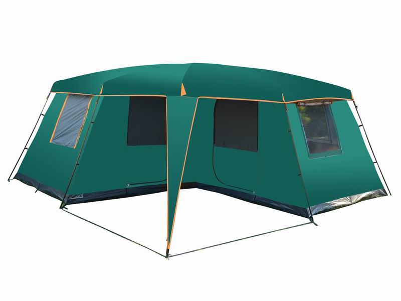 12 Person Durable Custom Extended Family Cabin Tent