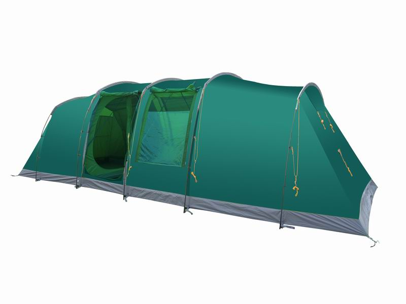 Custom 8 Person Durable Extended Family Tunnel Tent