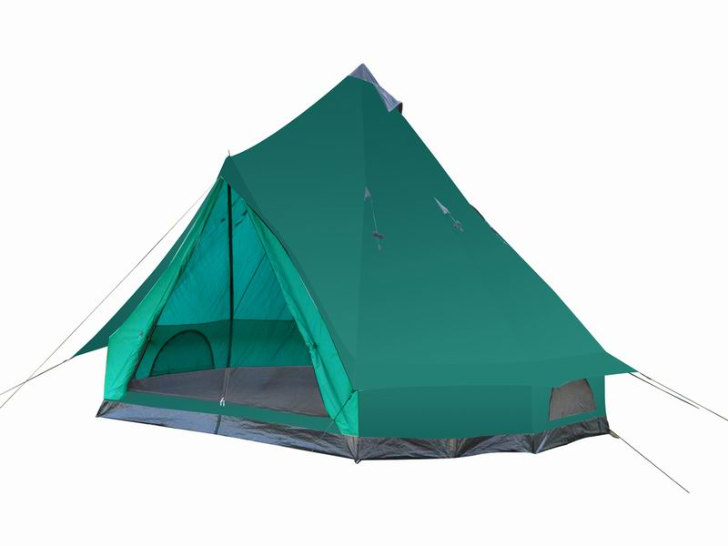 Custom 8 Person Durable Instant Family Bell Tent