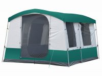 4 Person Portable Extended Family Cabin Tent