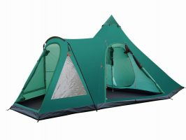 6 Person Durable Extended Family Bell Tent