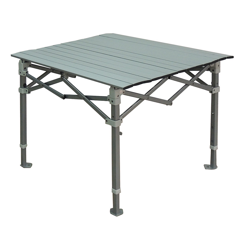Custom Aluminum Adjustable Folding Camp Table