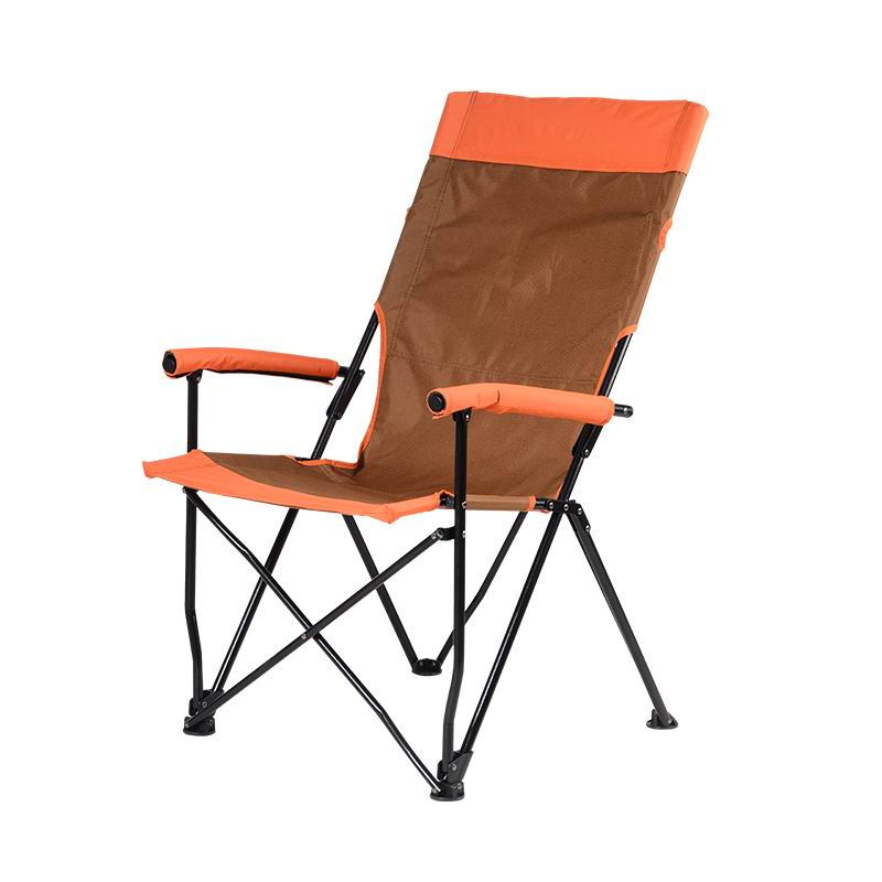 Custom High Back Folding Quad Camp Chair