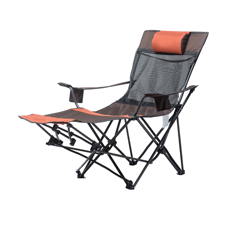 Custom Mesh Folding Lounge Chair