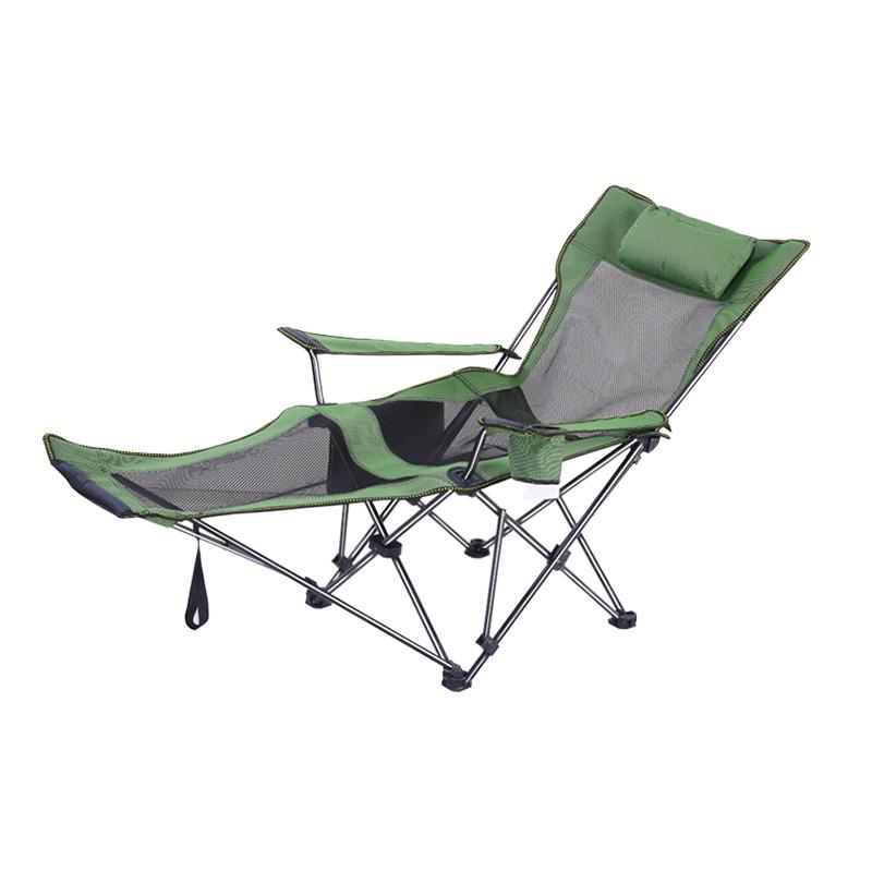 Custom Mesh Folding Recliner Chair Outdoor