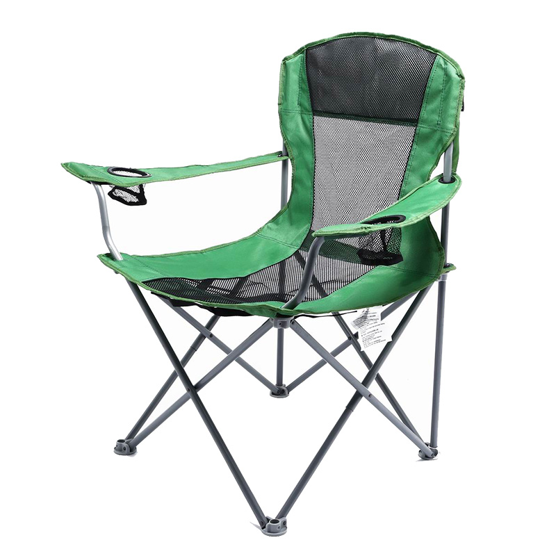 Mesh Quad Camping Chair
