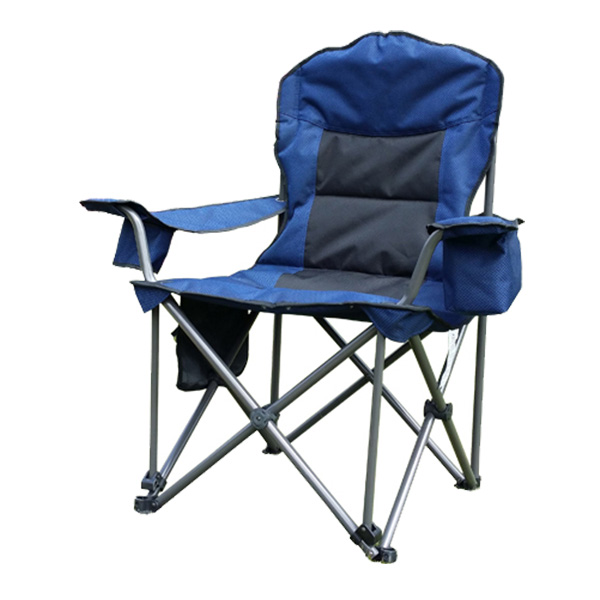 Portable Camping Quad Chair with 6-Can Cooler